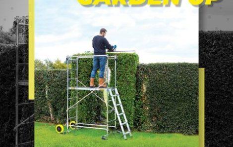 Nouvel échafaudage de jardin